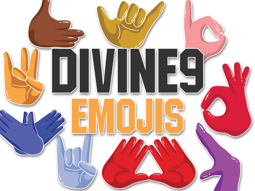 Divine 9 emojis an app for black fraternities and sororities the divine 9 emojis app released today for imessage is a 300 sticker pack capturing the quintessential expressions of black fraternity and buycottarizona Image collections