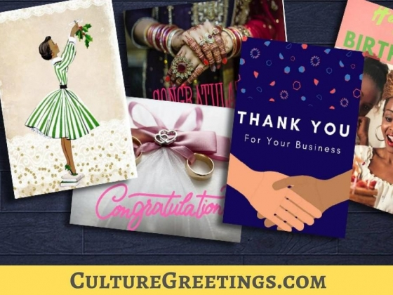 """10% off of Black Greeting Cards - promo code """"growth"""""""